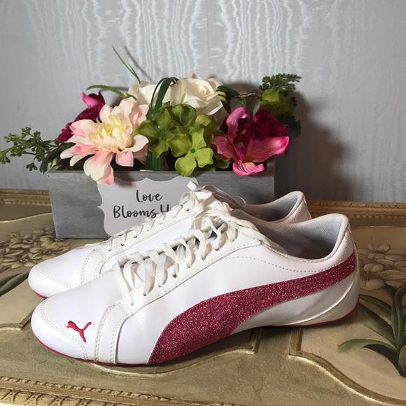 Puma Janine Dance Cheer Shoes Rare Pink